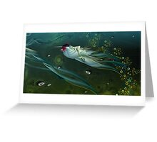 in the deep Greeting Card