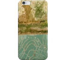 Half Turquoise © iPhone Case/Skin