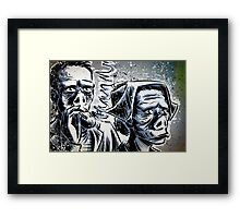 Twilight Zone Eye of the Beholder Rod Serling CBS TV Show Framed Print