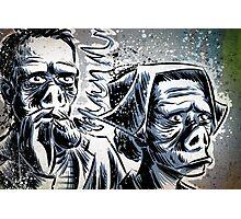 Twilight Zone Eye of the Beholder Rod Serling CBS TV Show Photographic Print
