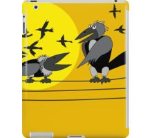 Funny birds iPad Case/Skin