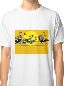 Funny birds Classic T-Shirt