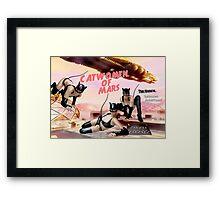 Catwomen of Mars Framed Print