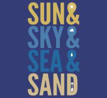 Sun Sky Sea And Sand T-Shirt