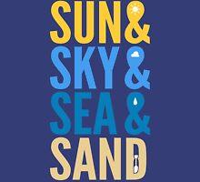 Sun Sky Sea And Sand Unisex T-Shirt