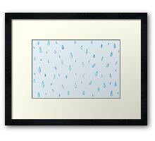 Rainy Day funtimes Framed Print