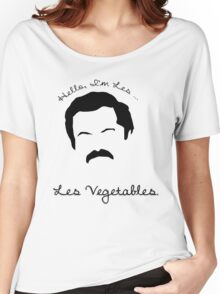 Les Vegetables. More Happiness.  Women's Relaxed Fit T-Shirt