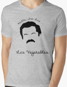 Les Vegetables. More Happiness.  Mens V-Neck T-Shirt