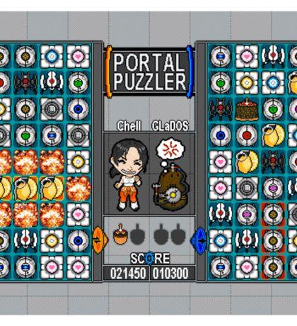 Portal Puzzler Sticker