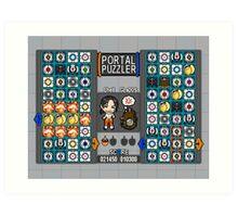 Portal Puzzler Art Print