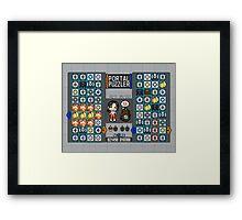 Portal Puzzler Framed Print