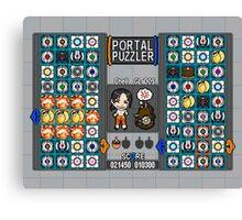 Portal Puzzler Canvas Print