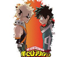 Boku no Hero Academia - Bakugou & Izuku by Onimihawk