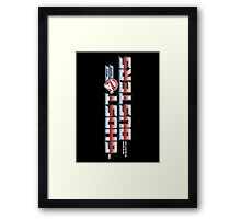 TF Ghostbusters (Ready 2 Believe) Blk ver.3 Framed Print