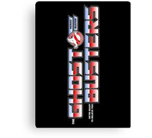TF Ghostbusters (Ready 2 Believe) Blk ver.3 Canvas Print