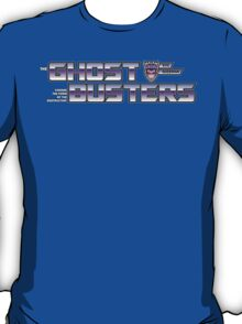 TF Ghostbusters (Choose The Form) Blk T-Shirt
