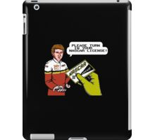 Bill Elliott Wants My NASCAR License iPad Case/Skin