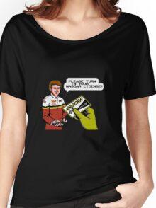 Bill Elliott Wants My NASCAR License Women's Relaxed Fit T-Shirt