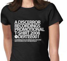 DERTEE001 - A DiscError Recordings Promotional T-Shirt Womens Fitted T-Shirt