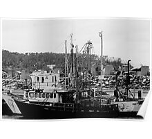 Working Boats Poster