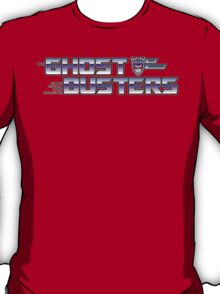 TF Ghostbusters (Choose The Form) Wht T-Shirt