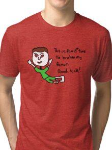 broken femur Tri-blend T-Shirt