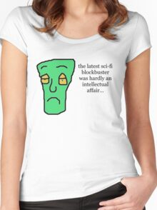 Sci-fi blockbuster Women's Fitted Scoop T-Shirt