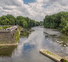 River Cher, Chenonceau, Brittany, France by Elaine Teague