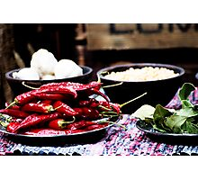 Hot and Spicy Photographic Print