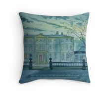"""By the Light of the Moon- Sewerby Hall"" Throw Pillow"