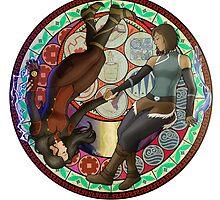 Korrasami - Circle by Drakyx