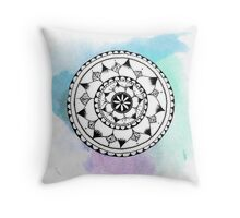 Floral Water colour dream  Throw Pillow