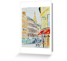 The Side, Newcastle upon tyne Greeting Card