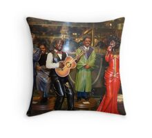 Jazzzzzzz and Bluesssssss and Hal-le-lu-yah songs! Throw Pillow