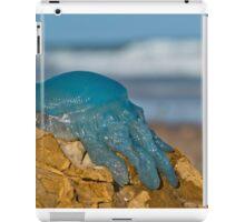 Blue Jellyfish 02 iPad Case/Skin