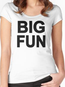 Big Fun Women's Fitted Scoop T-Shirt