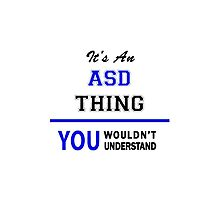 It's an ASD thing, you wouldn't understand !! by thinging