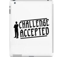 Challenge accepted Funny Geek Nerd iPad Case/Skin