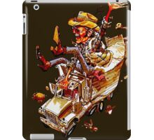 Jerry and the Bandit. Awesome mashup. iPad Case/Skin