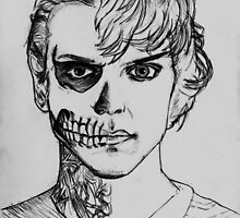 Tate - darkness sketch by DoultreeDesigns