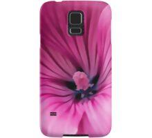 Early Summer Blooms Impressions - Bright Pink Malva Samsung Galaxy Case/Skin