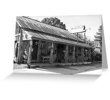 Typical old style American General Stores early 1900's Greeting Card