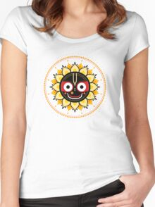 Lord Jagannatha. Women's Fitted Scoop T-Shirt