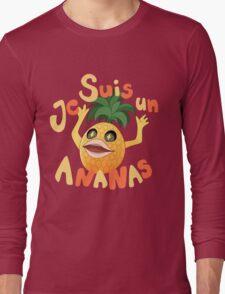 Je Suis Un Ananas Long Sleeve T-Shirt