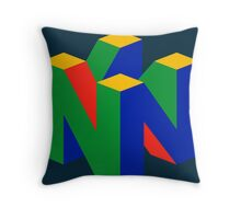 N64 Throw Pillow