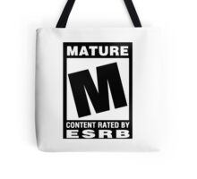 ESRB Rated M for Mature Tote Bag
