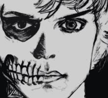 Tate - darkness - black background  Sticker