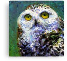Prophecy: Snowy Owl Canvas Print