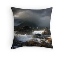 Elgol Storm Throw Pillow