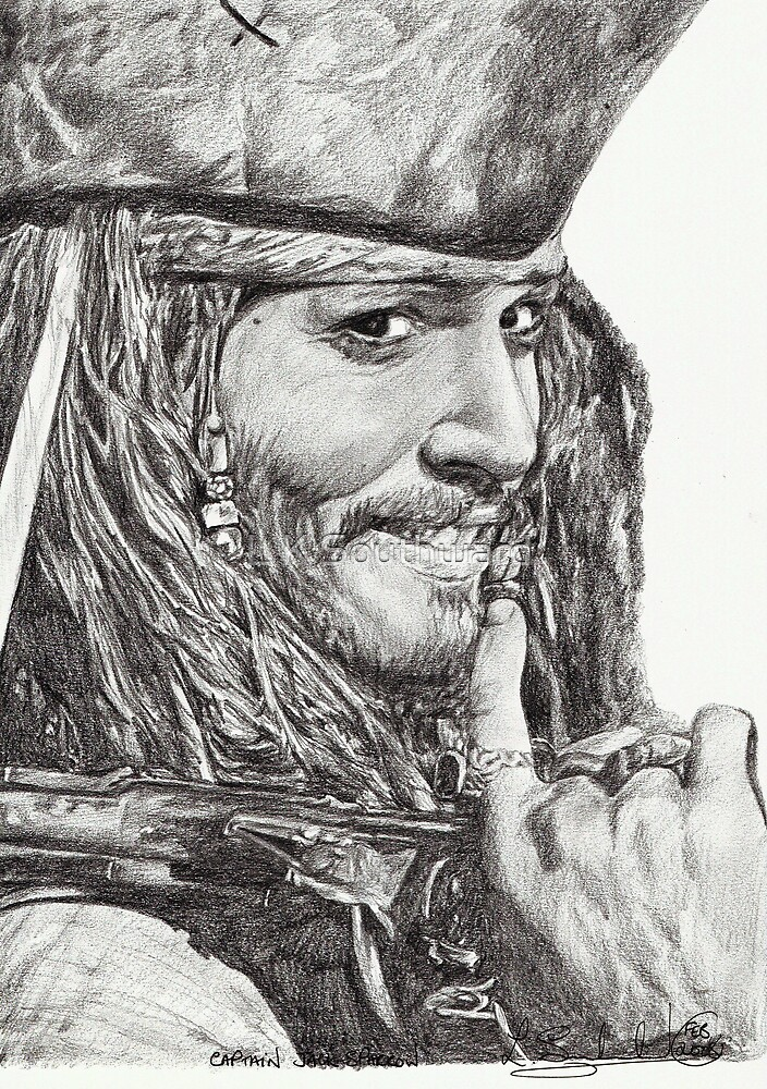 Captain Jack Sparrow by L K Southward